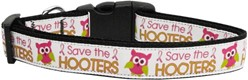 Save the Hooters Breast Cancer Awareness Collar