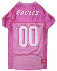 Philadelphia Eagles Pink Pet Football Jersey