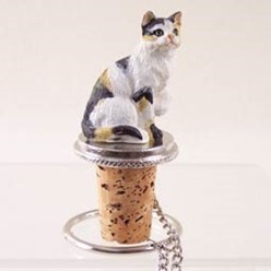 Calico Cat Wine Stopper
