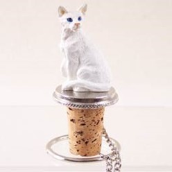 Oriental Shorthair Cat Bottle Stopper