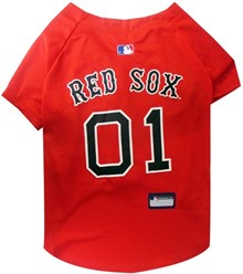 Boston Red Sox Pet Baseball Jersey