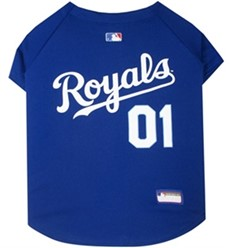 Kansas City Royals Pet Baseball Jersey