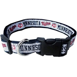Minnesota Twins Dog MLB Collar
