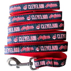 Cleveland Indians MLB Dog Lead