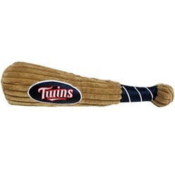 Minnesota Twins MLB Plush Baseball Bat Pet Toy