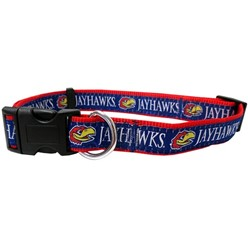 University of Kansas Jayhawks NCAA Dog Collar