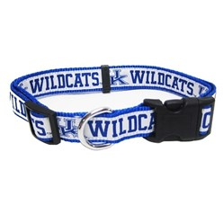 University of Kentucky Wildcats NCAA Dog Collar