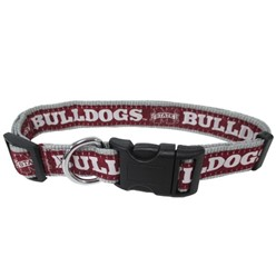 Mississippi State Bulldogs NCAA Dog Collar
