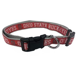 Ohio State Buckeyes NCAA Dog Collar