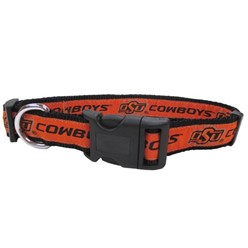 Oklahoma State University Cowboys NCAA Dog Collar