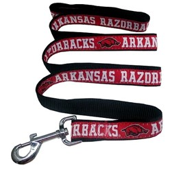 University of Arkansas Razorbacks NCAA Dog Leash