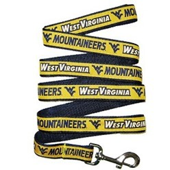 West Virginia University Mountaineers NCAA Dog Leash