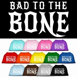 Bad to the Bone Pet Tee