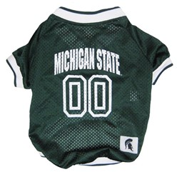 Michigan State Spartans Pet Football Jersey