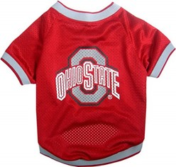 Ohio State Buckeyes Pet Football Jersey