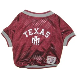 Texas A&M University Aggies Pet Football Jersey