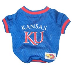 University of Kansas Jayhawks Pet Football Jersey