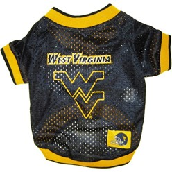 West Virginia University Mountaineers Pet Football Jersey