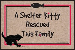 Shelter Kitty Rescued This Family Mat