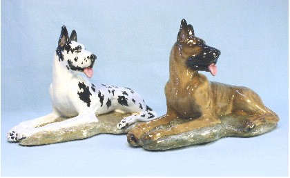 Ltd Edition Great Dane Figurines