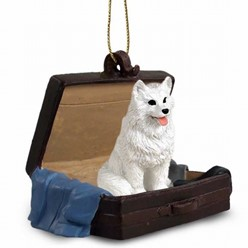 Dog Traveling Companion Ornaments