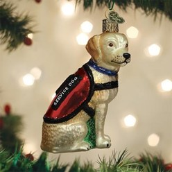 Vintage Dog and Cat Ornaments