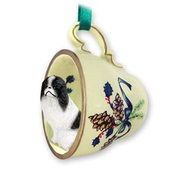Dog Tea Cup Holiday Ornaments