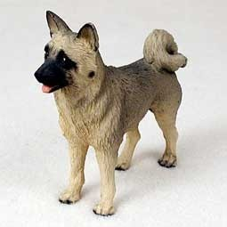 Raining Cats and Dogs | Akita Figurine