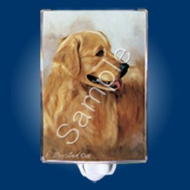 Raining Cats and Dogs | Golden Retriever Night Light