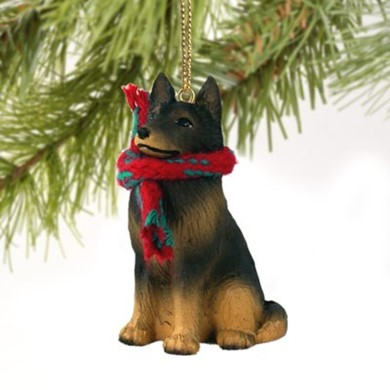 Raining Cats and Dogs | Belgian Tervuren Christmas Ornament
