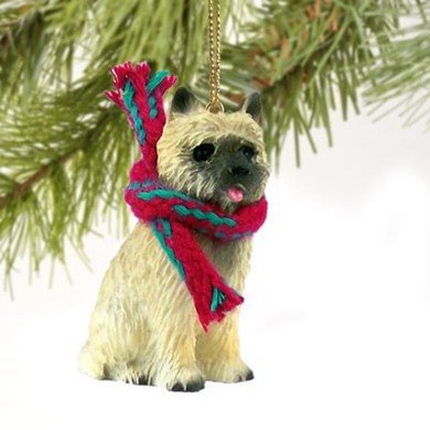 Raining Cats and Dogs | Cairn Terrier Christmas Ornament