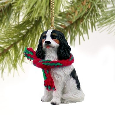 Raining Cats and Dogs | Cavalier King Charles Christmas Ornament