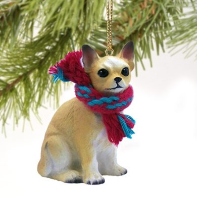Raining Cats and Dogs | Chihuahua Christmas Ornament
