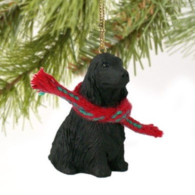 Raining Cats and Dogs | English Cocker Christmas Ornament
