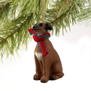 - Raining Cats And Dogs Italian Greyhound Christmas Ornament