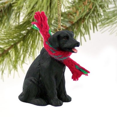 Raining Cats and Dogs | Labrador Retriever Christmas Ornament
