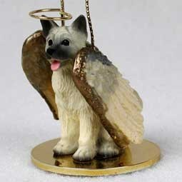 Raining Cats and Dogs | Akita Angel Ornament
