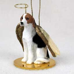 Raining Cats and Dogs | American Foxhound Angel Ornament