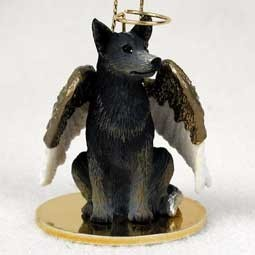 Raining Cats and Dogs | Australian Cattle Dog Angel Ornament