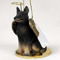 Raining Cats and Dogs | Belgian Tervuren Angel Ornament