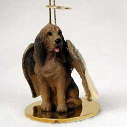 Raining Cats and Dogs | Bloodhound Angel Ornament