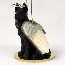 Raining Cats and Dogs | Great Dane Dog Angel Ornament