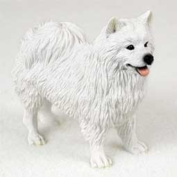 Raining Cats and Dogs | American Eskimo Figurine