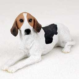 Raining Cats and Dogs | American Foxhound Figurine