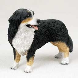 Raining Cats and Dogs | Bernese Mountain Dog Figurine