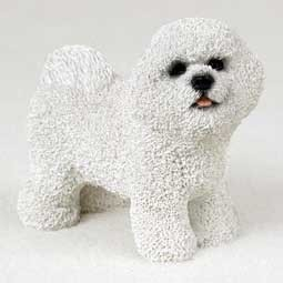 Raining Cats and Dogs | Bichon Frise Figurine