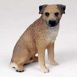 Raining Cats and Dogs | Border Terrier Figurine