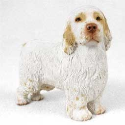 Raining Cats and Dogs | Clumber Spaniel Figurine