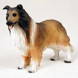Raining Cats and Dogs | Collie Figurine