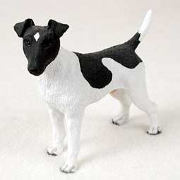 Raining Cats and Dogs | Fox Terrier Smooth Figurine